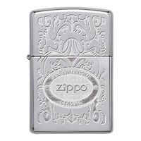 Фото Зажигалка Zippo 24751 GLEAMING PATINA HIGH POLISH CHROME