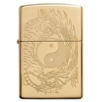 Фото Зажигалка Zippo 254B Tiger and Dragon Design